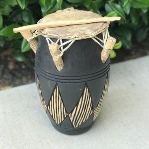 Vtg West African Ghanaian Drum